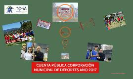 Copy of CUENTA PÚBLICA CORPORACIÓN DE DEPORTES 2018