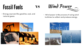 Fossil Fuels VS Wind Power