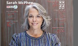 Sarah McPhee