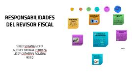 RESPONSABILIDADES DEL REVISOR FISCAL