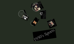 1950's sports