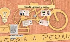 Bicicleta: Generador de energía.