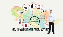el uniforme del chef