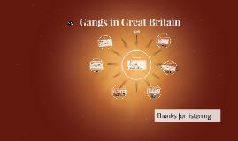 Gangs in Great Britain