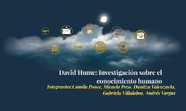 Copy of David Hume: Investigacion sobre el conocimiento humano