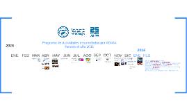 Activiades 2015