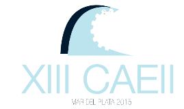 Difusión XIII CAEII MDP 2015