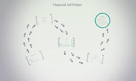 Financial Aid Primer