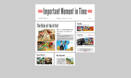 4th Grade - Important Moment in Time