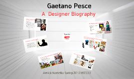 Designer Bio: Gaetano Pesce