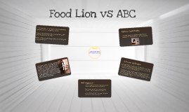 Food Lion vs ABC