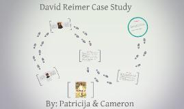 David Reimer Case Study
