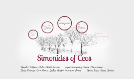 Simonides of Ceos