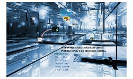 Intervenciones conciliatorias: intergrupos