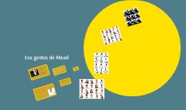 Copy of Los gestos de Mead