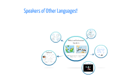 Speakers of Other Languages!