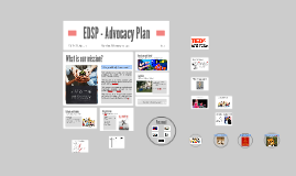EDSP - Advocacy Plan