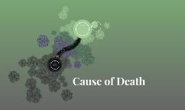 Cause of Death: Wilbur