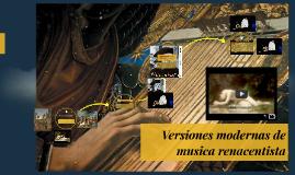 Musica medieval versiones modernas