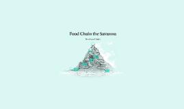 Food Chain the Savanna