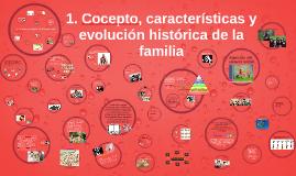 1. Cocepto, características y evolución histórica de la fami