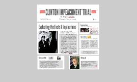 Clinton Impeachment Trial