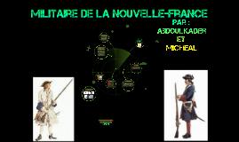 Militaire de la Nouvelle-France