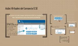 Aulas Virtuales del Consorcio ELSE