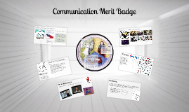 Copy of Communication Merit Badge