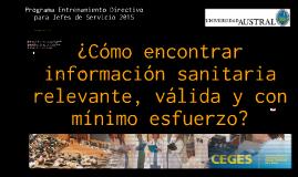 Intro CEGES 2015