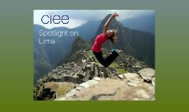 CIEE Lima Study Center