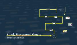 Stock Movement Sheets