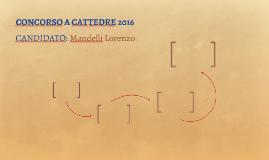 CONCORSO A CATTEDRE 2016