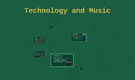 outdated: Technology and Music