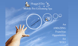 Shaggy2Chic Mobile Pet Grooming Spa Franchise Opportunity