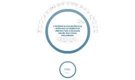 O Teorema da Equivalência da Interação e o Desenho de Cenários para a Educação Online: Resultados Preliminares