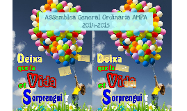Assemblea General Ordinaria AMPA 2014-2015