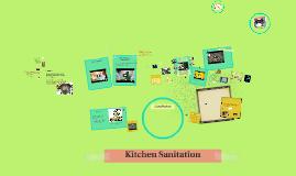 Copy of Kitchen Sanitation