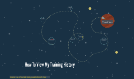 How To View My Training History