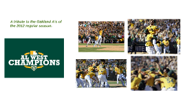 A Tribute to the A's