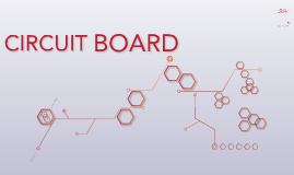 Copy of Copy of Free - Hexagon circuit board red prezi template
