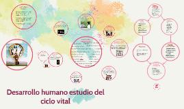 Copy of Desarrollo humano estudio del ciclo vital