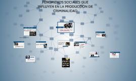 Copy of FENÓMENOS SOCIALES QUE INFLUYEN EN LA PRODUCCIÓN DE CRIMINAL