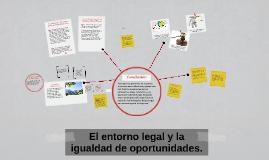 El entorno legal y la igualdad de oportunidades.