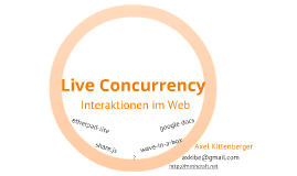 Live concurrency -- Interaktion im Web