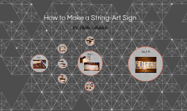 How to Make a String-Art Sign