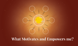What Motivates and Empowers me?