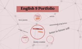 English 9 Portfolio