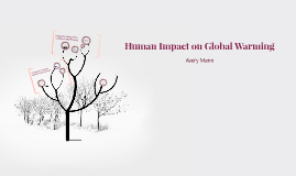 Human Impact on Global Warming