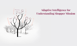 Adaptive Intelligence for Understanding Shopper Mission